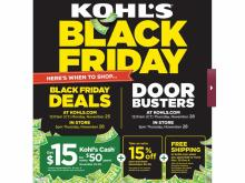 Kohl's Black Friday Ad 2019