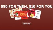 IMAGES: Bonus restaurant & retail gift card offers