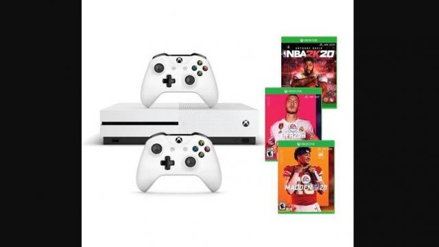 Kohl S Xbox One S 1tb Pro Sports Gaming Console Bundle With