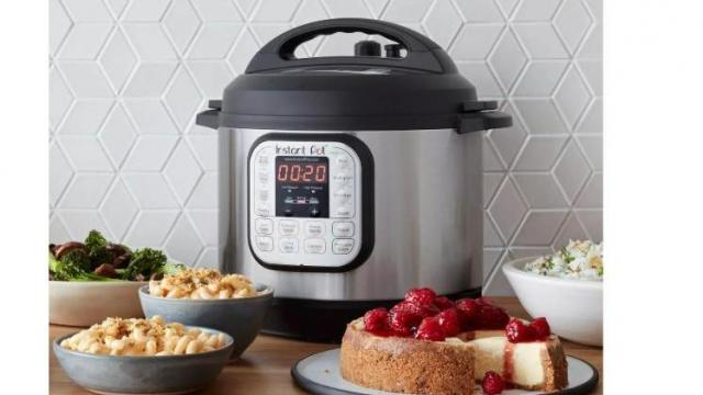Instant Pot Duo 6qt 7-in-1 Pressure Cooker (photo courtesy Target)