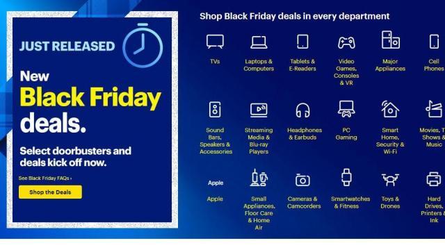 Best Buy Black Friday list of deals valid through 11/30