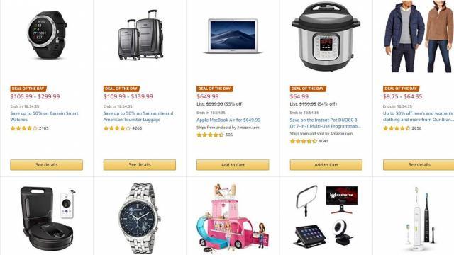 Amazon Black Friday Sale 11-29-19 (photo courtesy Amazon)