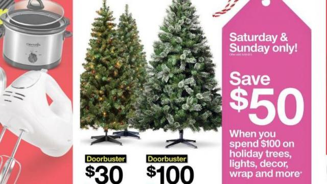 Target Holiday Offer (photo courtesy Target)