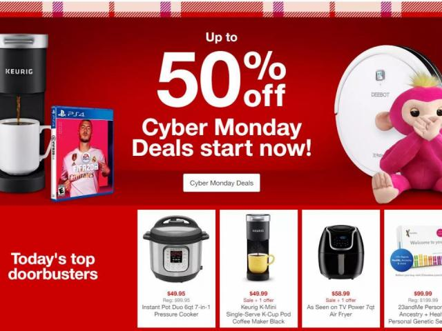 Target Cyber Monday Live Now Additional 15 Off On Select Kitchen Wral Com