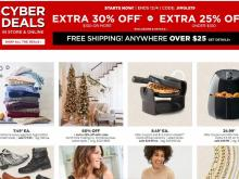 JCPenney Cyber Deals Sale