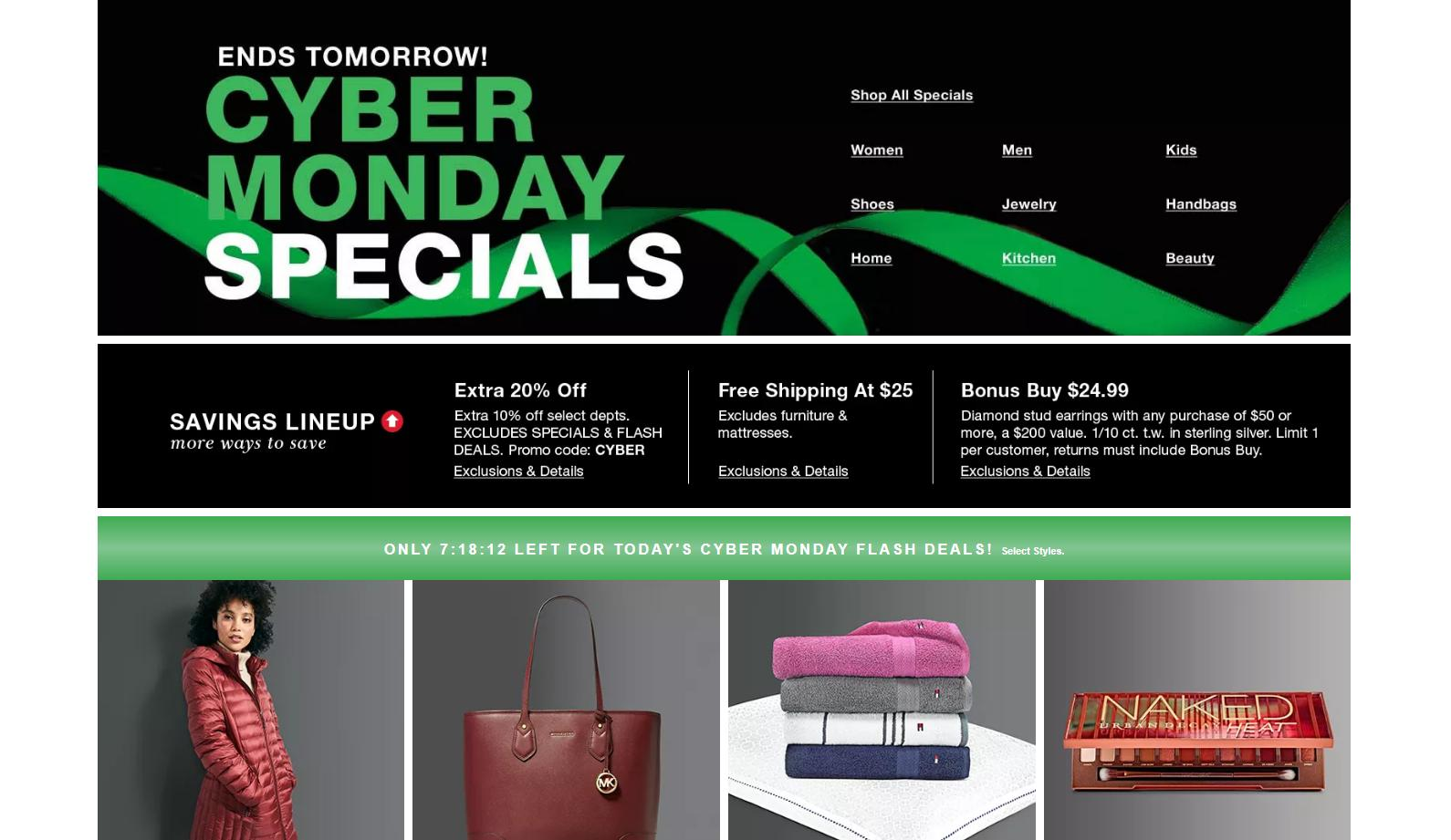 Macy S Cyber Monday Deals Now Available Online New Coupon Wral Com