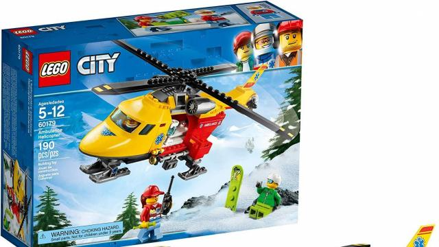 LEGO City Ambulance Helicopter Building Set (photo courtesy Amazon)