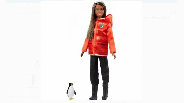 Barbie National Geographic Polar Marine Biologist Doll (photo courtesy Walmart)