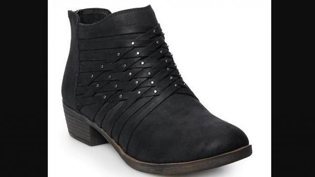 kohls boots on sale