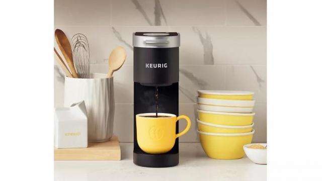 Keurig K-Mini Single-Serve K-Cup Pod Coffee Maker (photo courtesy Target)