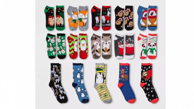 Target: 15 Days of Socks Advent Calendars only $12.75 TODAY! :: WRAL.com