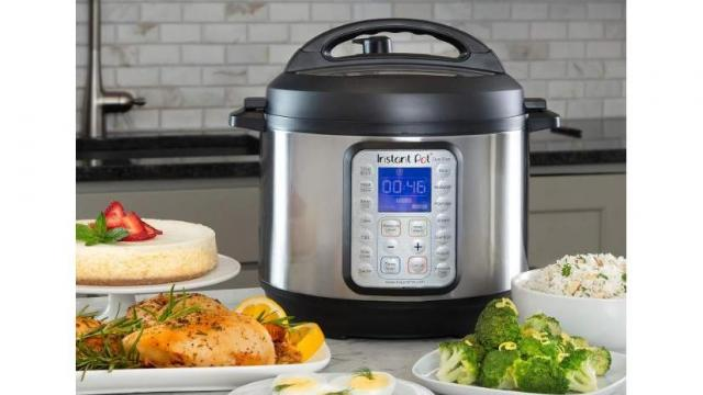 Instant Pot 60 Duo Plus 6 Qt 9 In 1 Multi Use Pressure Cooker Only 64 99 50 Off Wral Com