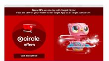 IMAGES: 10% off Target Gift Cards on Sunday, Dec. 8!