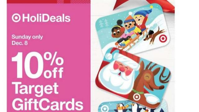 Target Gift Card Offer (photo courtesy Target)