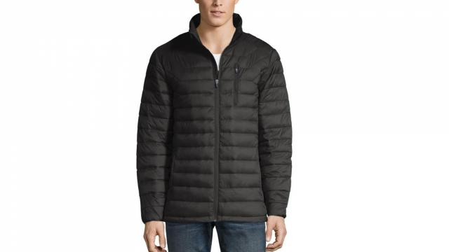 Xersion Water Resistant Lightweight Puffer Jacket (photo courtesy JCPenney)