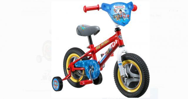 "Nickelodeon's PAW Patrol 12""Chase Bike, Red"