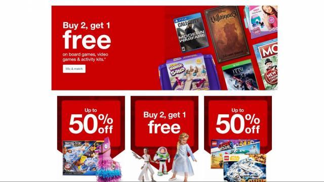 Target Game Sale (photo courtesy Target)