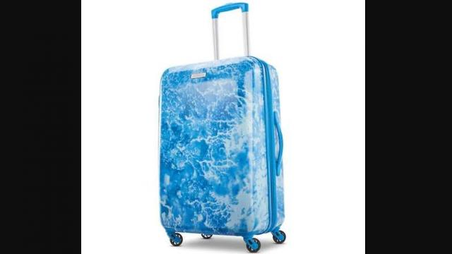 American Tourister Burst Max Printed Hardside Spinner Luggage (photo courtesy Kohl's)
