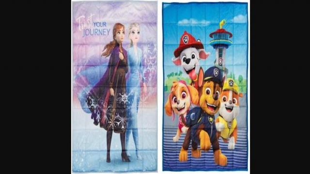 Kids Character Weighted Blankets (photo courtesy Walmart)