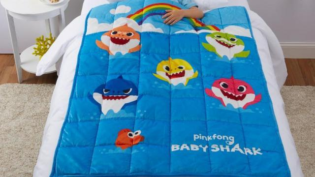 Baby Shark Kids Weighted Blanket