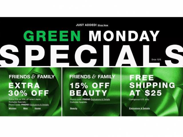 List of hot Green Monday online deals Monday 129 ::