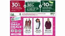 IMAGES: Kohl's: Mystery coupon, 30% off coupon, $10 jewelry coupon, $10 Kohl's Cash, super sales!