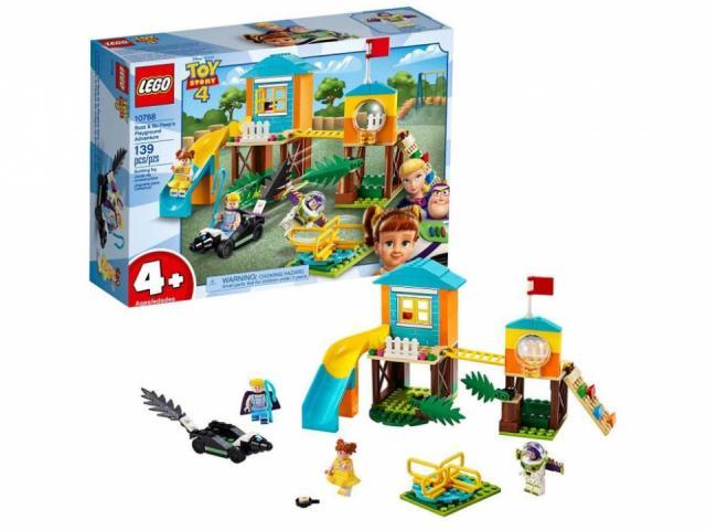 LEGO Disney Pixar's Toy Story Buzz & Bo Peep's Playground Adventure Building Kit (photo courtesy Amazon)