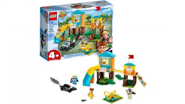 LEGO Disney Pixar's Toy Story Buzz & Bo Peep's Playground Adventure Building Kit