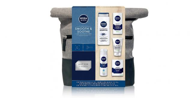 NIVEA Men Dapper Duffel 5 Piece Collection Gift Set