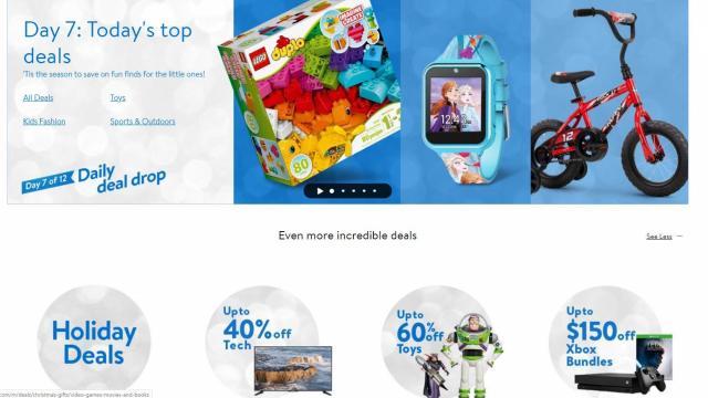 Walmart Daily Deal Drop Sale (photo courtesy Walmart)