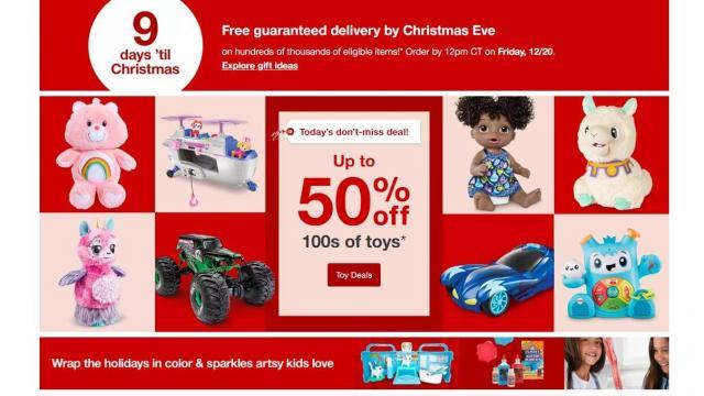Target sale (photo courtesy Target)
