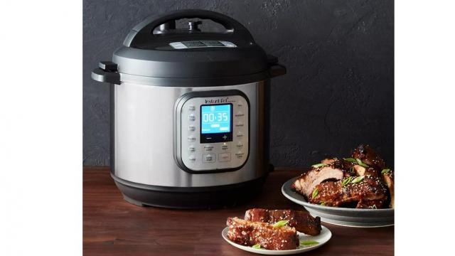 Instant Pot Duo Nova 6 quart 7-in-1 One-Touch Multi-Use Programmable Pressure Cooker (photo courtesy Target)