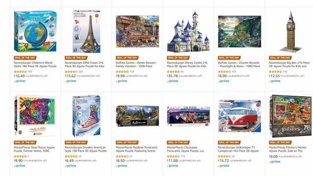 Amazon Puzzle Deal of the Day Sale (photo courtesy Amazon)