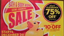 IMAGES: Bath & Body Works: 75% off Semi-Annual Sale going on now!