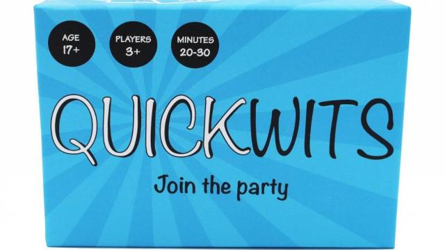 Quickwits Party Card Game (photo courtesy Amazon)