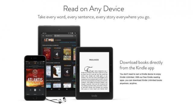 Kindle Unlimited Offer (photo courtesy Amazon)