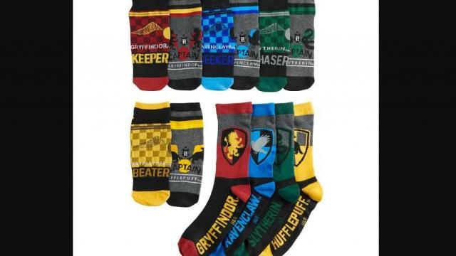 Men's 12 Days of Socks - Harry Potter (photo courtesy Kohl's)