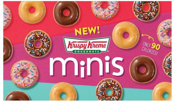 Krispy Kreme Minis Promotion (photo courtesy Krispy Kreme)