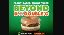 IMAGE: Dunkin': Free sample of Beyond Sausage Sandwich Friday & Saturday
