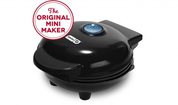 Dash Mini Waffle Maker in Black