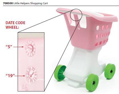 Step 2 Little Helper's Shopping Cart Toy