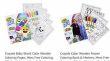 IMAGES: Crayola Color Wonder Mess Free Sets with Markers only $4.99 (reg. $7.99)