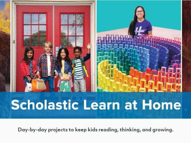 Scholastic Learn at Home offers free daily activities while kids ...