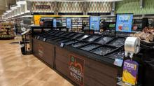 IMAGES: Grocery stores begin returning to regular operating hours