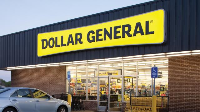 Dollar General Store Front (photo courtesy Dollar General)