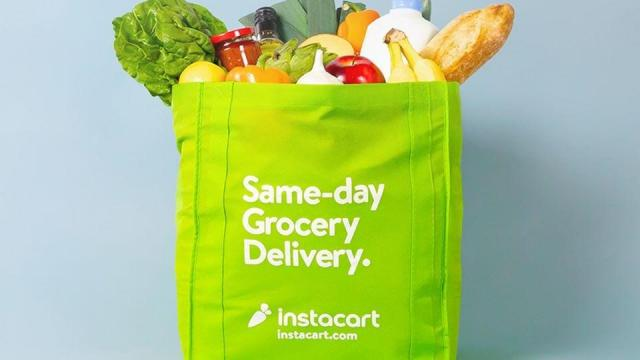 Instacart grocery bag (photo courtesy Instacart)