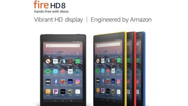 Fire HD 8 Tablet (photo courtesy Amazon)