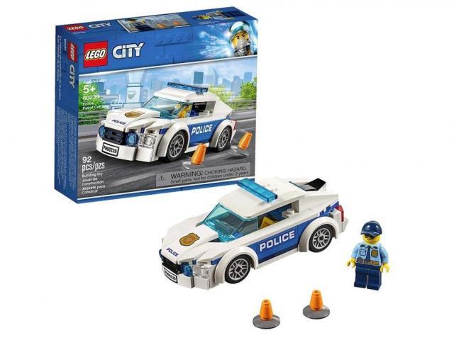 LEGO City Police Patrol Car Kit (photo courtesy Amazon)