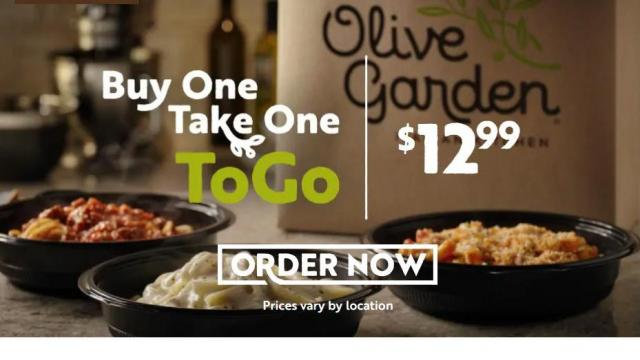Olive Garden Buy One Take One To Go Deal For 12 99 Wral Com