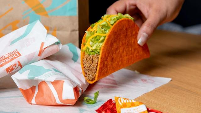 Taco Bell Doritos(r) Locos Tacos (photo courtesy Taco Bell)